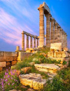 Temple of Poseidon Jigsaw Puzzle