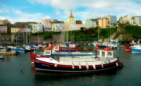Tenby Harbor Jigsaw Puzzle