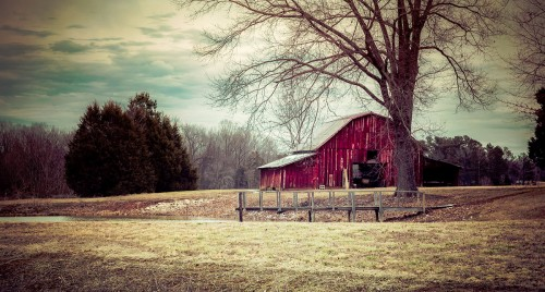 Tennessee Barn Jigsaw Puzzle