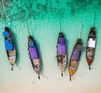 Thai Boats Jigsaw Puzzle