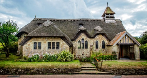 Thatched Church Jigsaw Puzzle