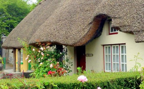 Thatched Roof Jigsaw Puzzle