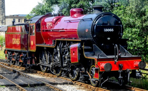"""The Crab"" Steam Engine Jigsaw Puzzle"