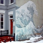 """The Great Wave"" Mural"