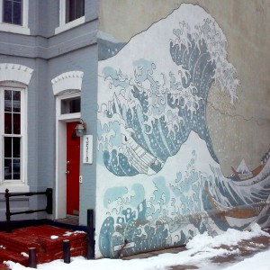 """""""The Great Wave"""" Mural Jigsaw Puzzle"""