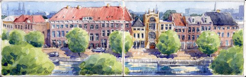 The Hague Sketch Jigsaw Puzzle