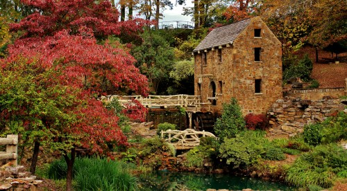 The Old Mill Jigsaw Puzzle