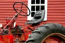 The Shaker Village Tractor