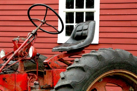 The Shaker Village Tractor Jigsaw Puzzle