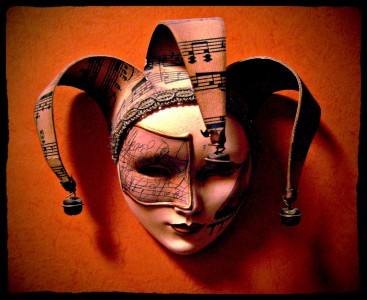 Theater Mask Jigsaw Puzzle