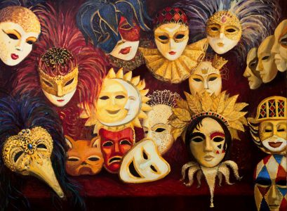 Theater Masks Jigsaw Puzzle