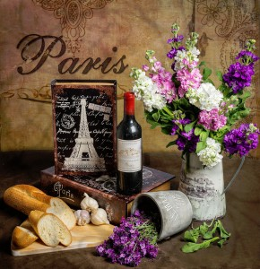 Thinking of Paris Jigsaw Puzzle