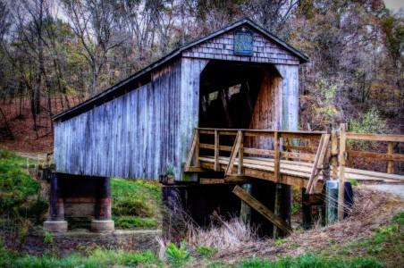 Thompson Mill Bridge Jigsaw Puzzle
