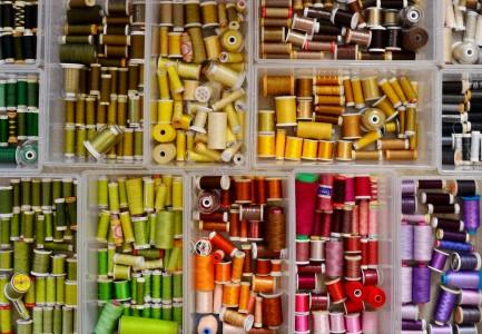 Thread Spools Jigsaw Puzzle