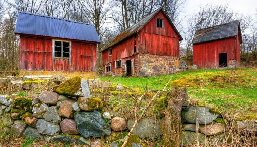 Three Barns Jigsaw Puzzle