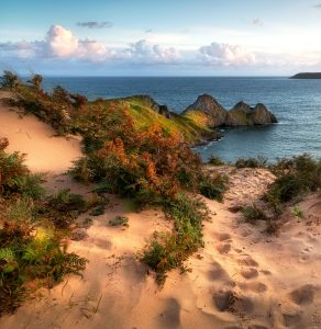 Three Cliffs Bay Jigsaw Puzzle