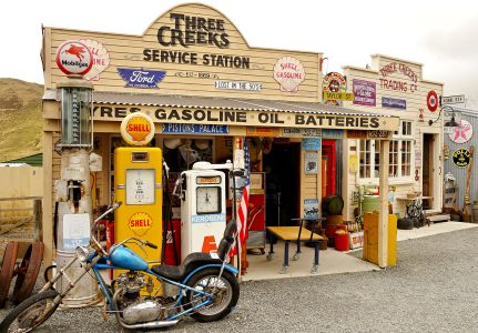 Three Creeks Station Jigsaw Puzzle