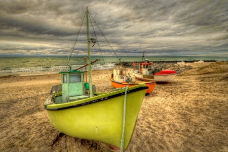 Three Fishing Boats Jigsaw Puzzle