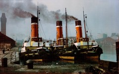 Three Tug Boats