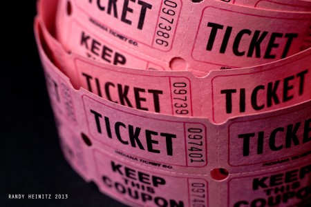 Ticket Roll Jigsaw Puzzle