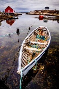 Tied Boat Jigsaw Puzzle
