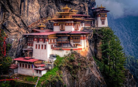 Tiger's Nest Jigsaw Puzzle