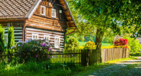 Timber Cottage Jigsaw Puzzle