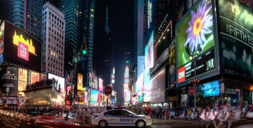 Times Square Lights Jigsaw Puzzle