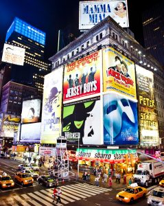 Times Square Signs Jigsaw Puzzle