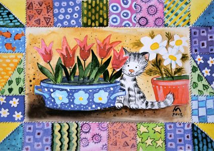 Timid Cat Jigsaw Puzzle