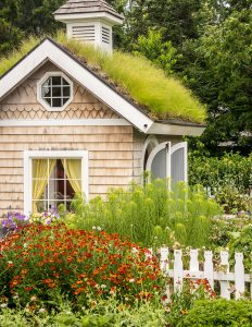 Tiny Garden House Jigsaw Puzzle