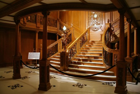 Titanic Grand Staircase Jigsaw Puzzle