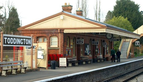 Toddington Station Jigsaw Puzzle
