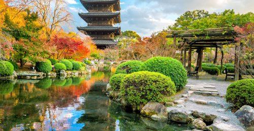 Toji Garden Jigsaw Puzzle