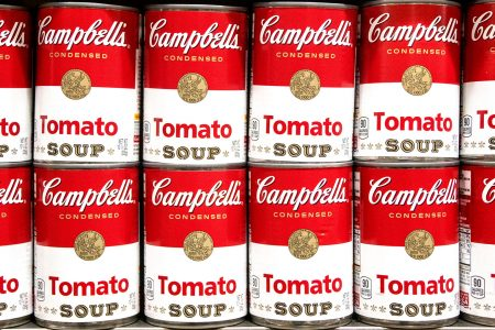 Tomato Soup Cans Jigsaw Puzzle