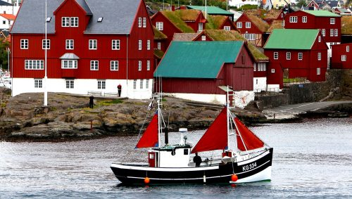 Tórshavn Harbor Jigsaw Puzzle