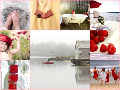Touches of Red Jigsaw Puzzle