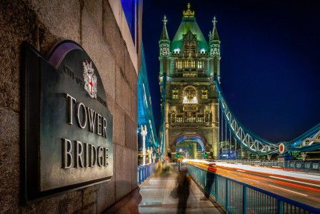 Tower Bridge at Night Jigsaw Puzzle
