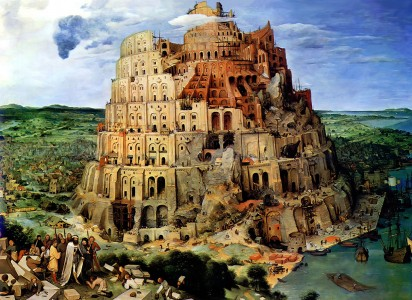 Tower of Babel Jigsaw Puzzle