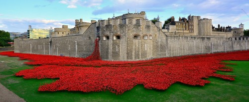 Tower of London Poppies Jigsaw Puzzle