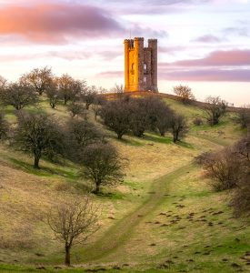 Tower on the Hill Jigsaw Puzzle