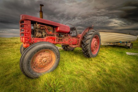 Tractor and Boat Jigsaw Puzzle