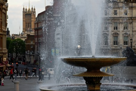 Trafalgar Square Fountain Jigsaw Puzzle