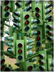 Traffic Light Tree Jigsaw Puzzle