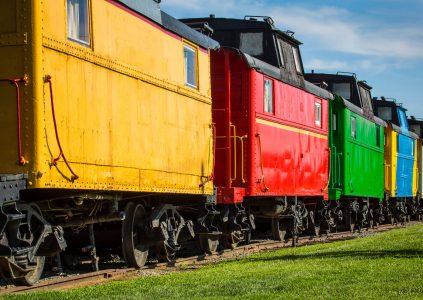 Train Cars Jigsaw Puzzle