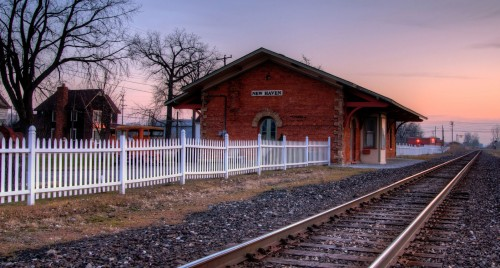 Train Depot Jigsaw Puzzle