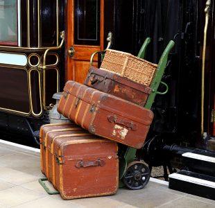 Train Luggage Jigsaw Puzzle