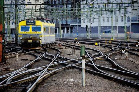 Train Rails Jigsaw Puzzle