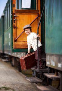 Train Traveler Jigsaw Puzzle