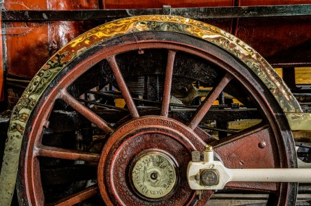 Train Wheel Jigsaw Puzzle